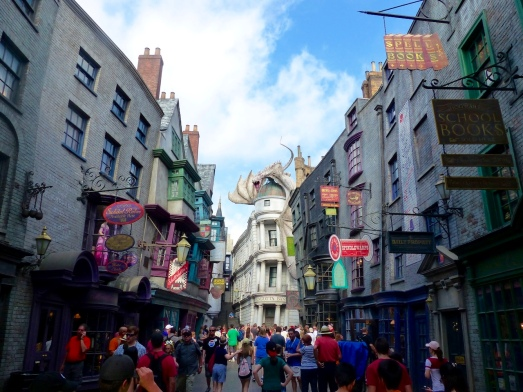 6- Diagon Alley in full glory!
