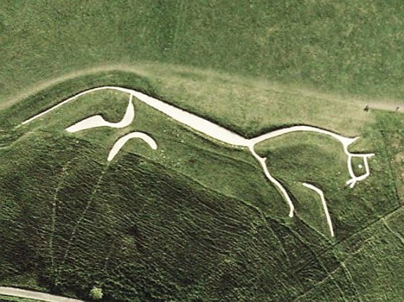 5- The White Horse of Uffington (Google Images)
