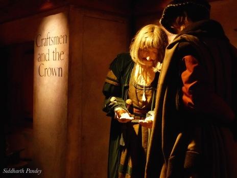 10- A chiaroscuro at work, Edinburgh Castle