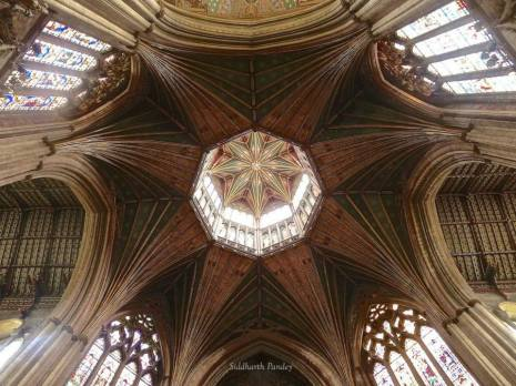 15- The stunning Lantern at Ely Cathedral,   Cambridgeshire