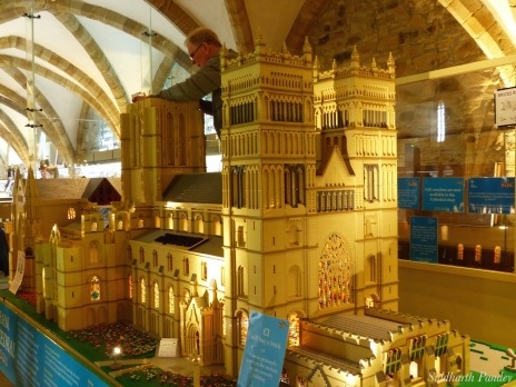 3- The Lego-brick cathedral