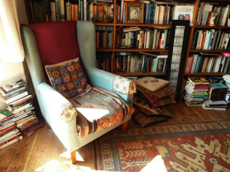 What kind of spaces make you want to read?