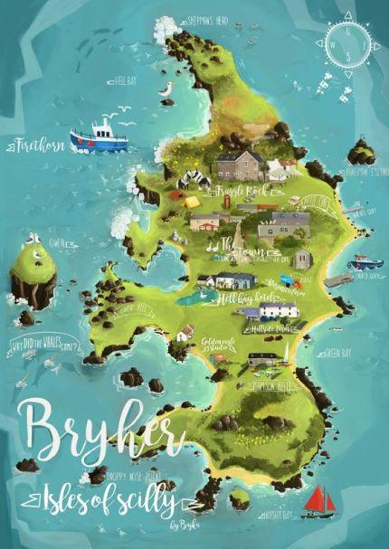 Bryher postcard